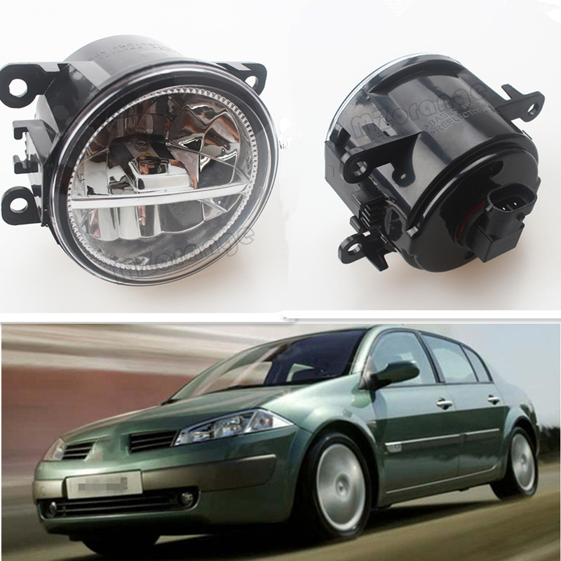 For Renault DUSTER LATITUDE LOGAN Laguna MEGANE 2/3/CC LS LM0 LM1 Car Styling Front Bumper LED fog Lights high Brightness Lamps