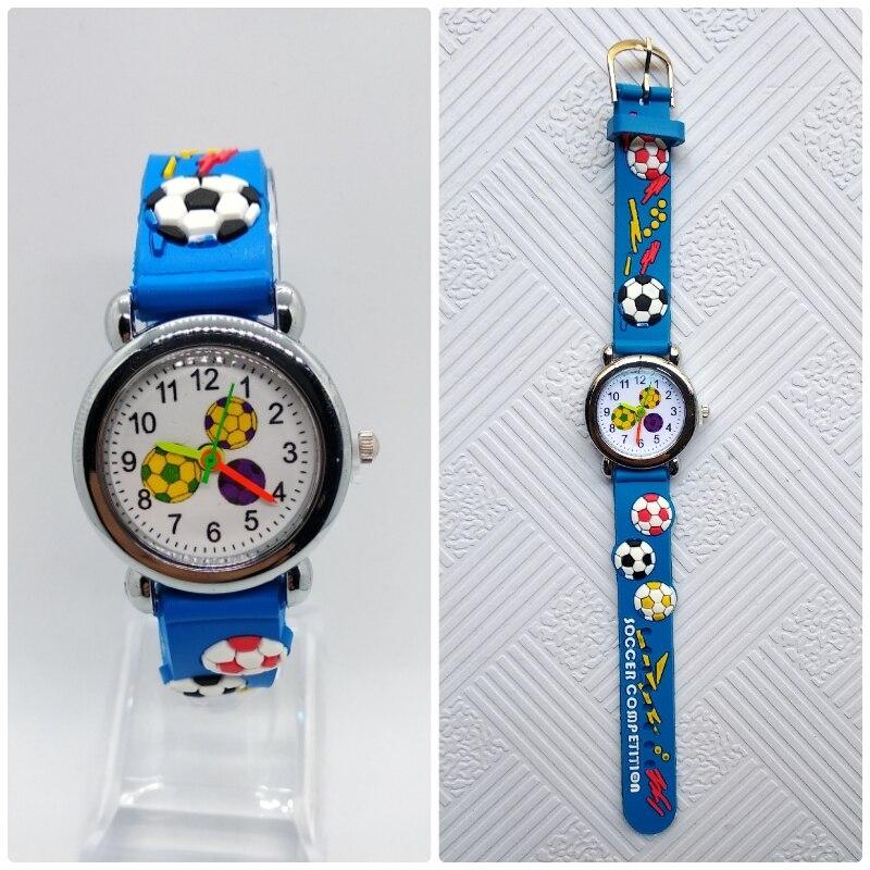 HBiBi Brand Children's Dream Football Watches Children Watch For Kid Girls Boys Student Clock Digital Kids Watches Birthday Gift