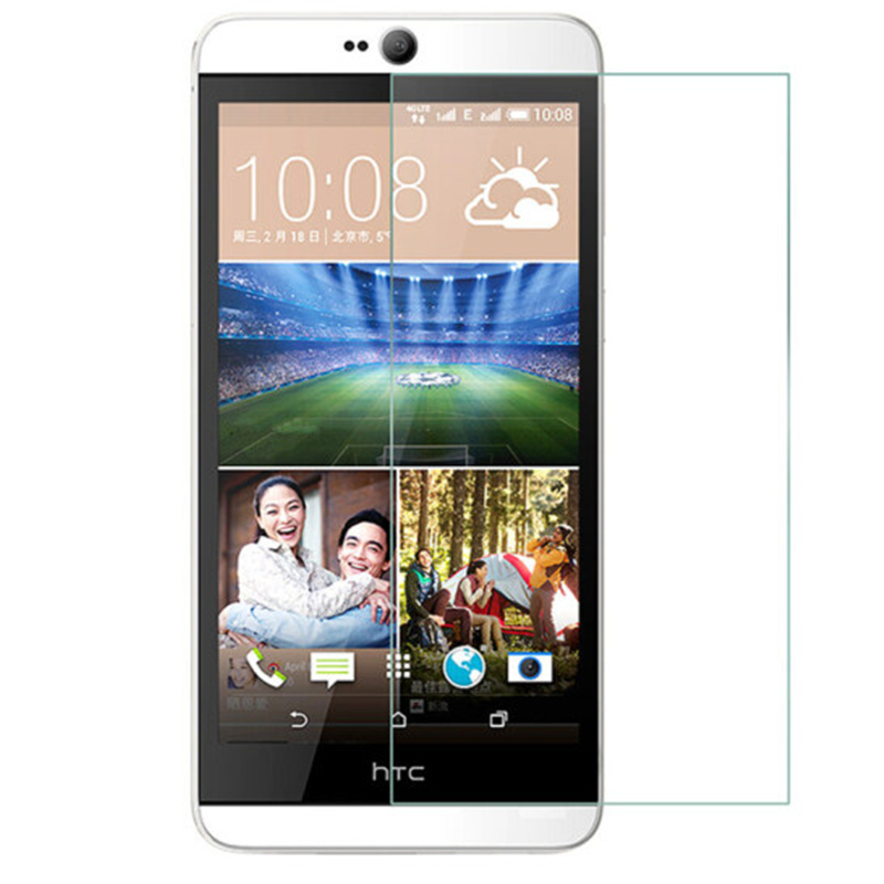 For HTC Desire 826 D826 826G 826w Dual SIM 826s 826d 826t Screen Protector Toughened Protective Film Guard Tempered Glass