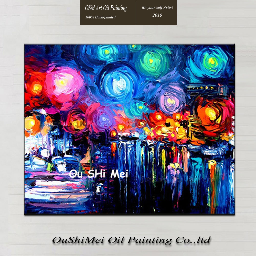 Cuchillo imagen leo de la lona pintura de pared cuadros for Decoracion de casas hechas a mano