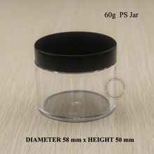 60 ml 2 oz Nhựa Rỗng Lọ Và Nắp Bao Bì Mỹ Phẩm Containers Cho Trang Điểm Hand Hộp Đựng Kem Nồi Với Miễn Phí Vận vận chuyển 10 cái