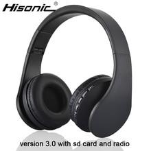 Hisonic bluetooth écouteurs Sans Fil Stéréo Pliable Écouteurs Microphone casque audio auriculares Casque Casque Écouteurs 811