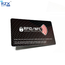 10pcs free shipping Good quality Credit Card Protector rfid blocking card to Block RFID / NFC Signals from Wallets and Passports
