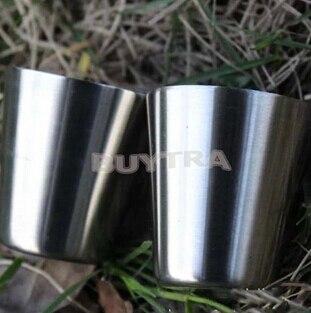 35ml Outdoor Portable Handle Stainless Steel Mug Cup Travel Tumbler Coffee Mug Tea Cup