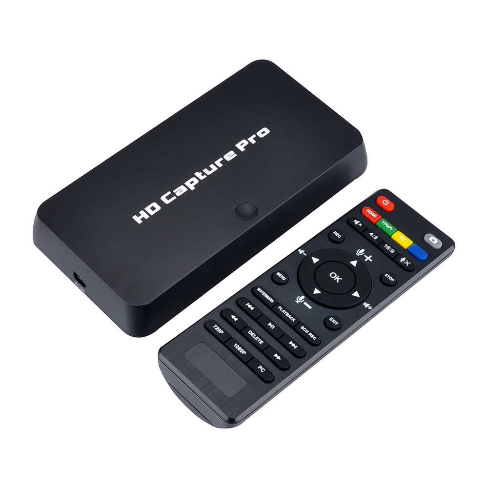 ezcap295 HD 1080P Video Game Capture Recorder USB 2 0 Playback Cards with Remote Control For