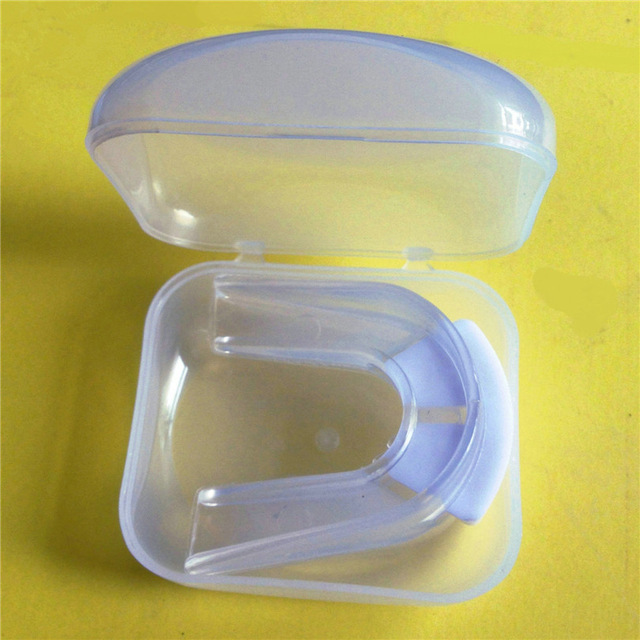 2 pieces eva double side basketball football mouthguard soft wearable need  stereotype boxing mouth guard for professional boxer -in Mouth Guard from  Sports ...