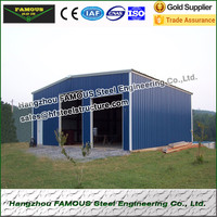 20ft * 21ft * 6ft prefabricate стальных конструкций гараж для навес