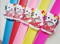 Children's Christmas gift Free shipping 10 pcs/lot  hello kitty cartoon slap watches,Cartoon watch,best gift to children