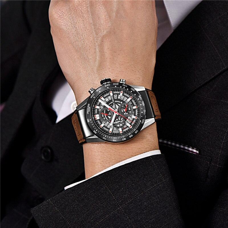 Image 3 - PAGANI DESIGN 2019 mens watches Top Brand Luxury Waterproof Quartz Watch men Sport Military Men's Wrist Watch Relogio Masculino-in Quartz Watches from Watches