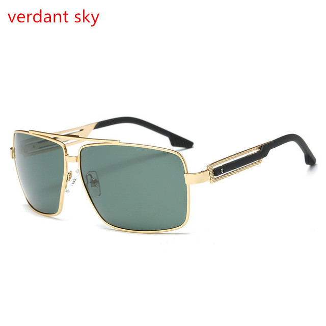 a552e0c826d7 2017 latest 100% uv400 Italy design Go alloy Sunglasses Polarized Lens Sun  Glasses For Men and women Sunglasses Original box