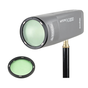 Image 5 - In Stock !!! Godox AD200 H200R Accessories AK R1 Barn Door, Snoot, Color Filter, Reflector, Honeycomb, Diffuser Ball Kits