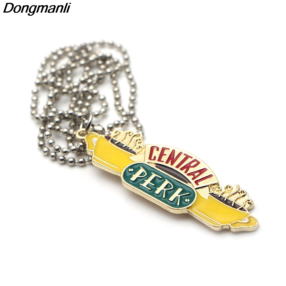 P2351 Dongmanli 1pcs Friends TV Show jewelry Key Ring Key Chain For Good Friend 39 s Gifts in Key Chains from Jewelry amp Accessories