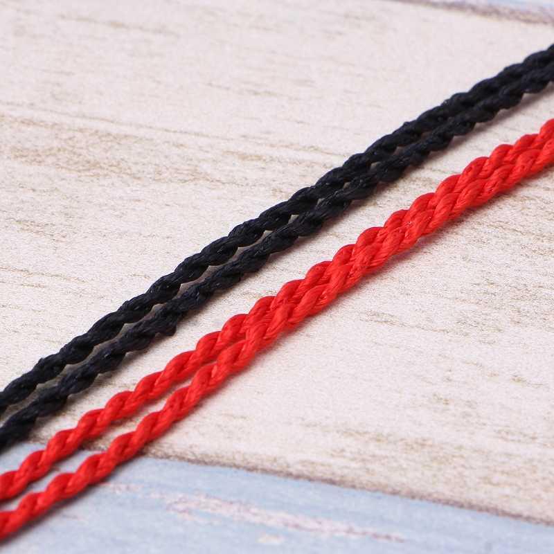 10 pcs Kabbalah Corda Vermelha Cordão Corda Descobertas Jóias DIY Colares Étnico Vermelho