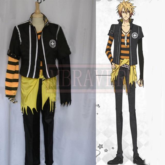 Japanese Anime Amnesia Toma Cosplay Costume Custom Made Any Size