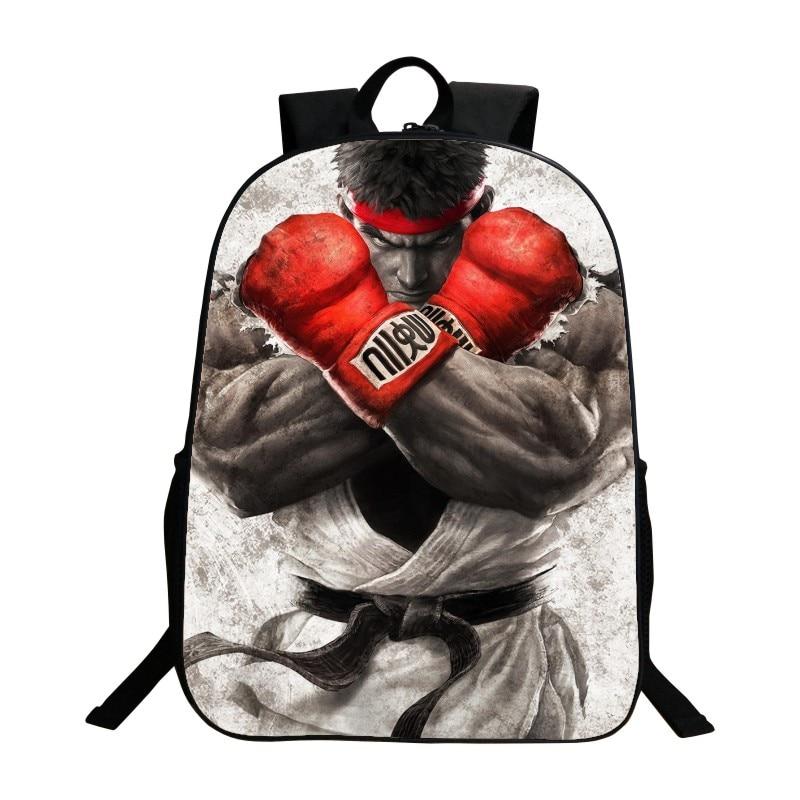 Hot School Backpack Printing 3D King Of Fighter Women Backpacks Girls Schoolbag Kids Baby School Bags For Children Boys Book Bag