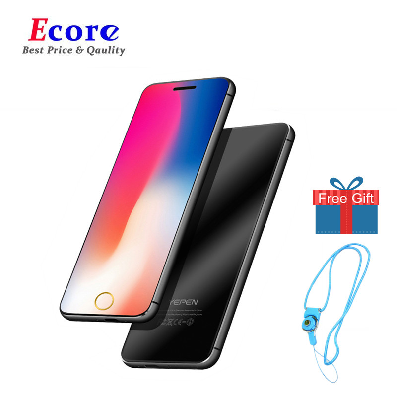 YEPEN N2 Luxury Mini Ultra thin metal body Dual SIM Card Cell Phone With MP3 Bluetooth Dial 1.67