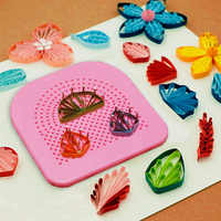 1 Pcs Quilter Grid Guide Paper Craft Tool Crafting Paper Quilling DIY Paper Quilling Tool 20 Roots Needle Plate Handmade Gift