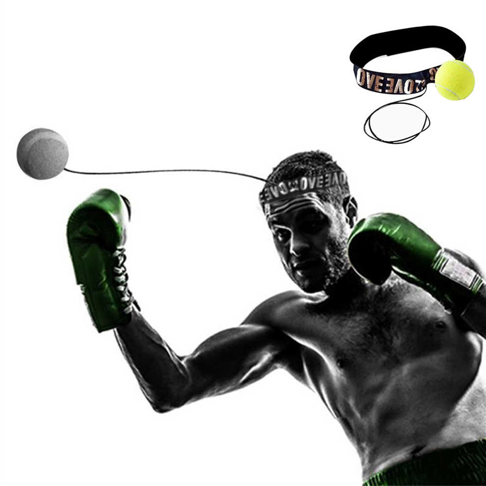 Fighting Ball Boxing Equipment With Head Band For Reflex Speed Training Box/_OQ