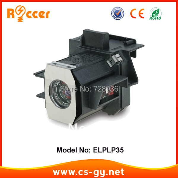 Compatible Projector Lamp ELPLP35 / V13H010L35 in housing for EPSON CINEMA-550 / EMP-TW520/TW620/TW680 free shipping new compatible projector lamp elplp44 v13h010l44 for epson emp dm1 eh dm2 moviemate50