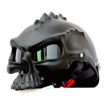 Masei Skull Motorcycle Helmet Capacete Casco Novelty Retro Casque Motorbike Half Face Helmet