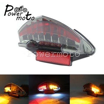 Motorcycle Integrated Tail Light LED Brake Stop Light Turn Signal Indicator for BMW R1200GS F800 K25 K71 K73 2005-2014