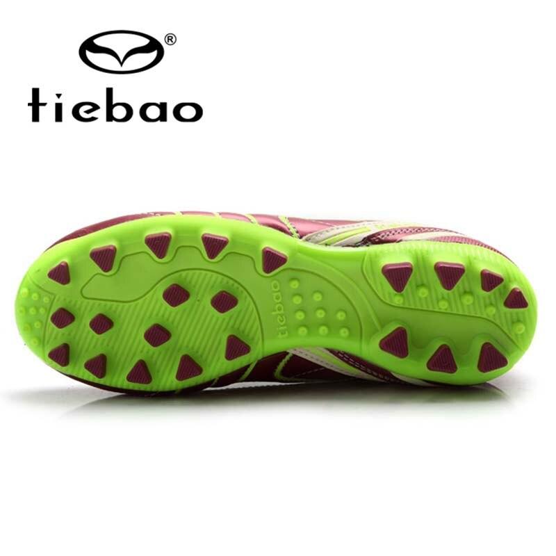 a80b75ec4b Sapatas dos miúdos de futebol tiebao profissional ao ar livre esportes ag  solas botas crianças sapatos de treinamento de futebol tamanho sneakers ue  30 38 ...