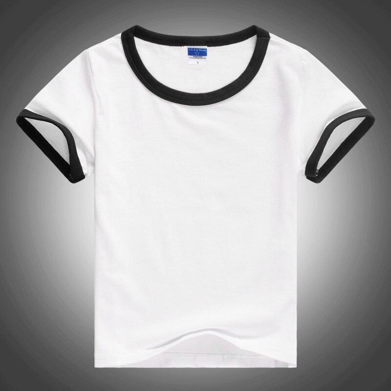 Baby Toddler T-Shirt Unisex Plain Short Sleeve 100/% Cotton 0-3 years