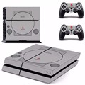 PS1 Style Decal Skin Ps4 console Cover For Playstaion 4 Console PS4 Skin Stickers+ 2Pcs Controller Protective Skins accessory