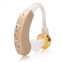 Sound Voice Amplifier Hearing Aids Mini Bte Digital Hearing Aid For Elderly Hearing Loss Personal Deafness