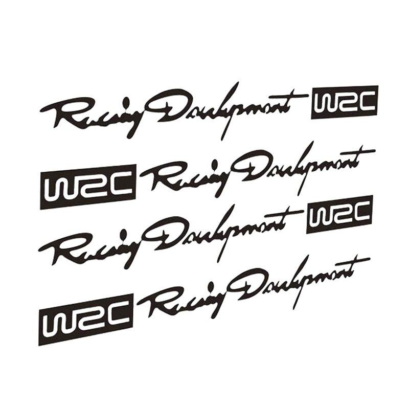 12*2см ралли WRC автомобиль наклейки Саймон ручки светоотражающие личность наклейка ЦТ-329