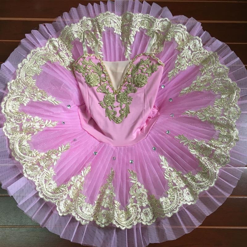 Show details for 2017 Pink Childrens Swan Lake Costume Women Adult Ballet Leotard Kid Ballet Dress Professional Ballet Tutus Dress For Girls