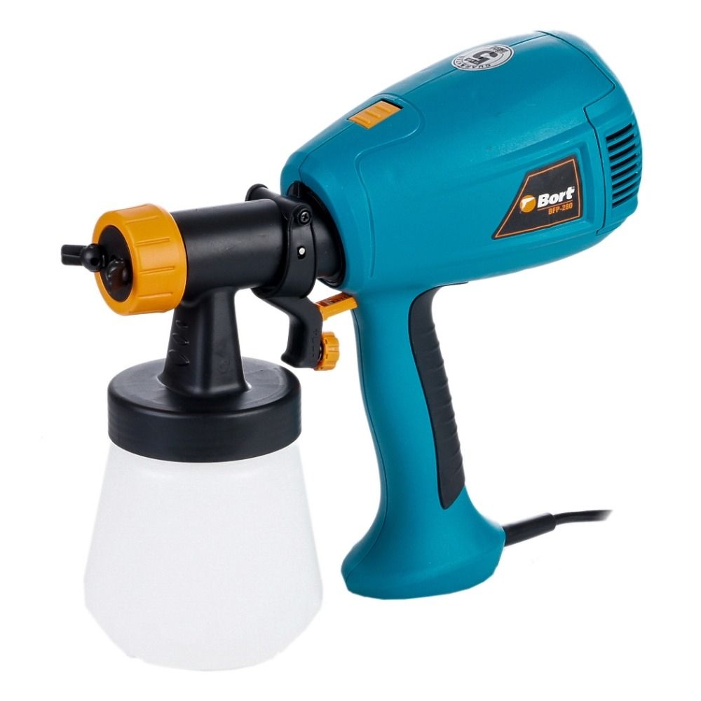 Paint spray gun Bort BFP-280 краскопульт bort bfp 280