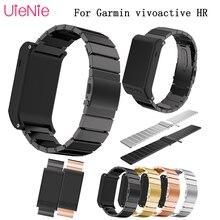 20mm wristband Stainless steel Wrist Strap for Garmin Vivoactive 3 Watch band Strap for Garmin Vivoactive3 Vivomove HR Bracelet цена в Москве и Питере