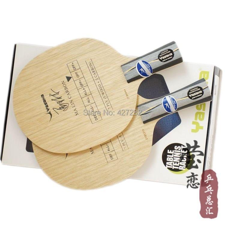 все цены на Original Yasaka  YCA table tennis blade racquet sports table tennis rackets yasaka racquet sports pingpong game carbon rackets онлайн