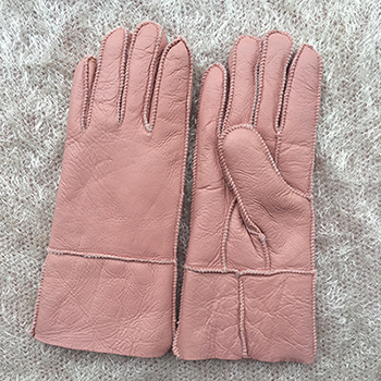 Pink Winter Women Leather...
