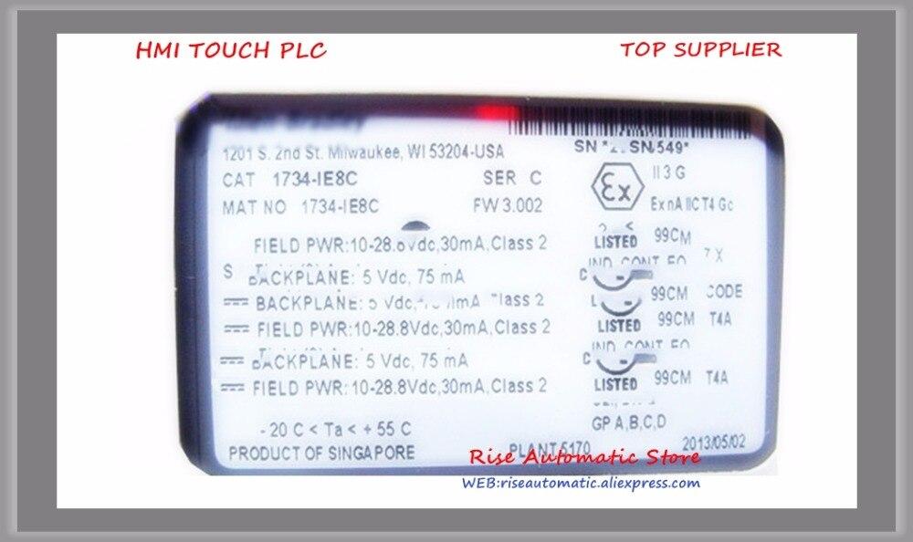 1734-IE8C PLC 75mA 8 single-ended Analog Input Modules New Original1734-IE8C PLC 75mA 8 single-ended Analog Input Modules New Original