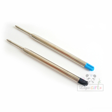 New brand quality goods  Blue and black ink ball pen refill for Metal Cross style Ball Pen refill Stationery Accessories