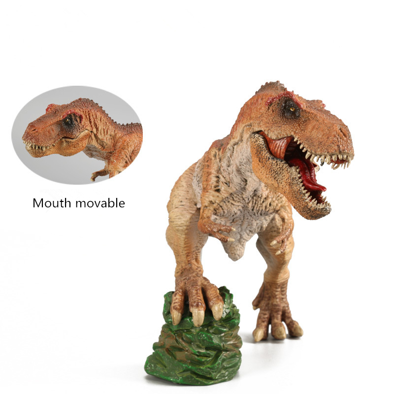 NEW Jurassic World Park solid simulation model dinosaur toy boutique single large Tyrannosaurus Rex Kids Gifts jurassic dinosaur world model dinosaur toy squatting south dragon doll ornaments