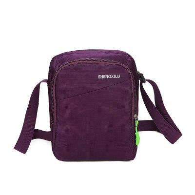 New Womens Shopping bag!Hot Lady All-match Shoulder&Crossbody bags Top Versatile fresh carved Nylon one-shoulder Zipper bags