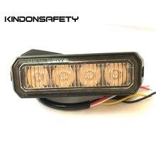 50 шт! ECE R65 одобренный 3W Автомобильный светодиодный свет, осветительная головка, решетка поверхностного монтажа, 14 моделей вспышки, multivolt