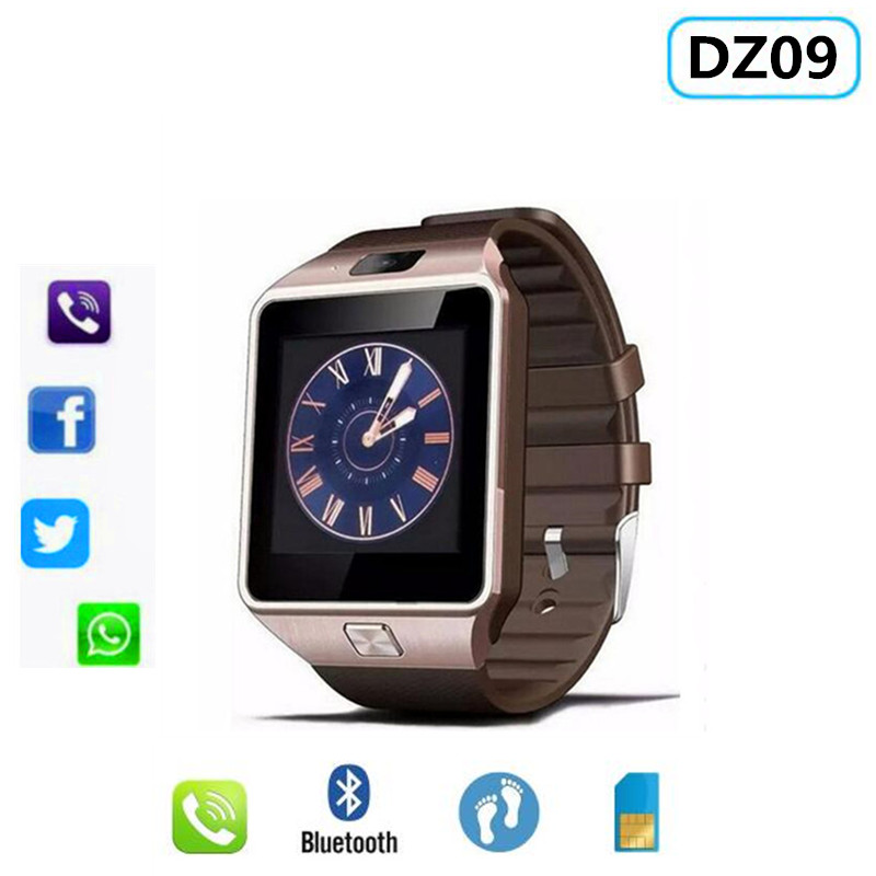 Bluetooth Sports Smart Watch DZ09 Support Music SIM TF Card Connectivity Android Phone PK GT08 X6 A1 V8 Z60 M26 Y1 T8 Q50 Q90