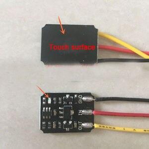 Image 1 - Mini Touch Schakelaar Dc 3V 18V 12V 2A Capacitieve Touch Bistabiele Elektronische Schakelaar Module Led Relais 5V Voor Acryl Keramische