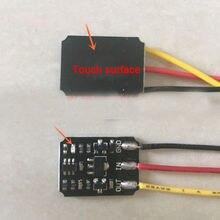 ミニタッチスイッチdc 3v 18v 12v 2A容量性タッチ双安定電子スイッチモジュールledリレー 5 用アクリルガラスセラミック