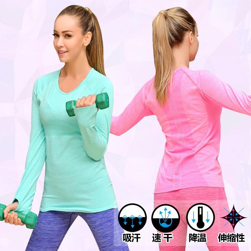 Long Sleeve Running Shirt Women