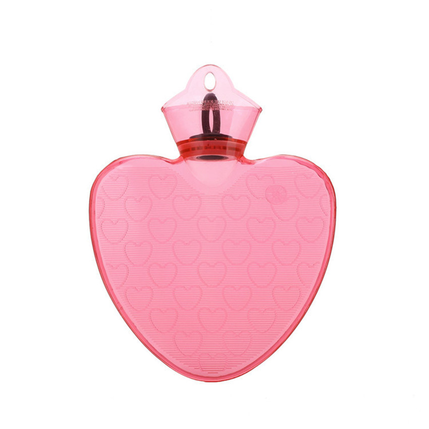 Heart shape pvc hot water bottle in hot water bottles from for Pvc for hot water