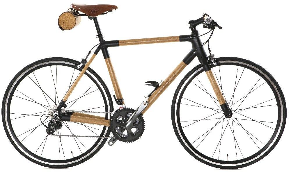 Road bike carbon frame / front fork Bamboo frame / front fork Frame ...
