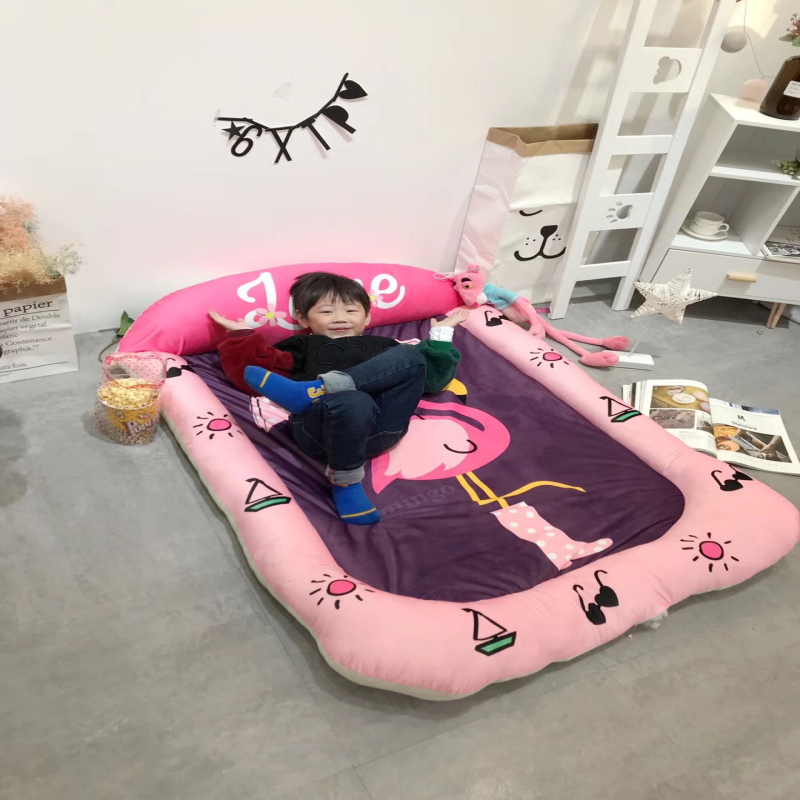 Baby Soft Play Mat Game Blanket Pad Kids Play Carpet Climb indoor room Crawling Mat Sundries Pouch Toys Storage Bag picnic mats 1 4cm thick cartoon puzzle play mat 28pcs lot baby crawling rug climb pad children carpet eva foam kids game soft floor toy 450