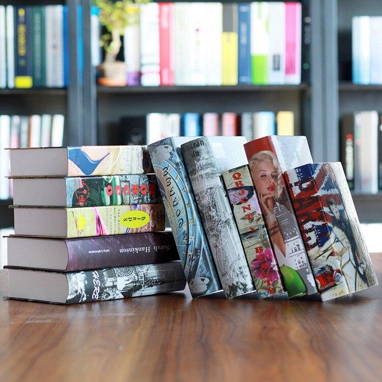 Fabrikanten Europese Stijl Van De Oude Boek Decoratie Decoratie Fotografie Props Nep Boek Boekenkast Boeken
