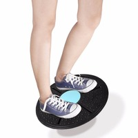 Balance Board Sprzęt Fitness ABS Deski Wsparcie 360 Stopni Obrót Masażu Na skręt Skręt exerciser nośne 150 kg