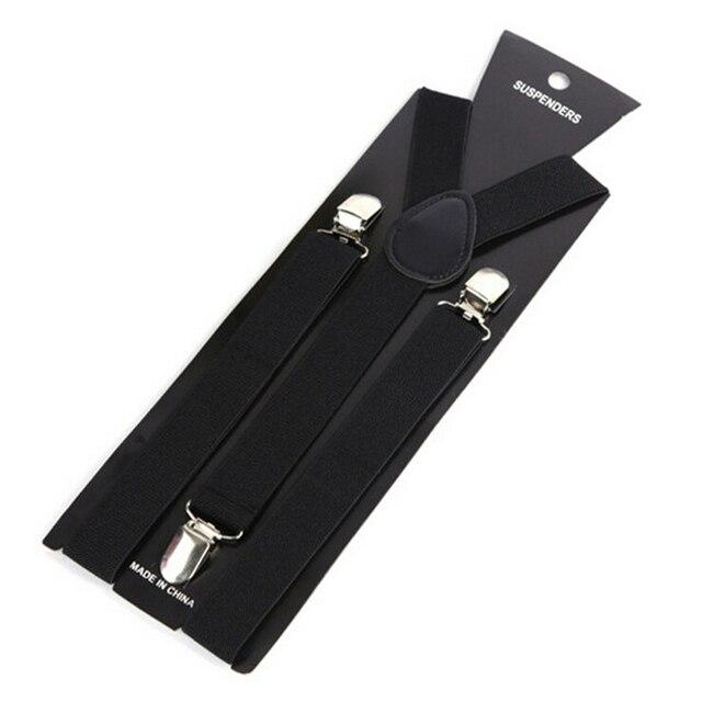 More Color For Choose New Mens Womens Unisex Clip-on Suspenders Elastic Y-Shape Adjustable Braces Colorful- 0055 1